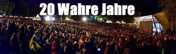 20 Wahre Jahre Festival