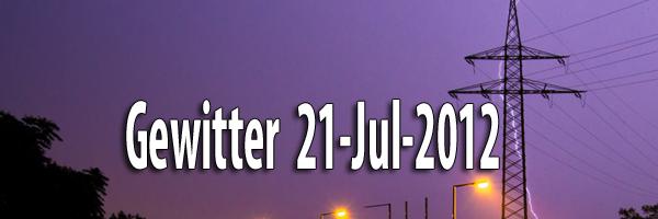 Gewitter 21 Jul 2012 Artikelbild