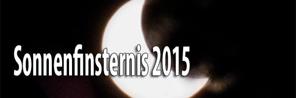 Artikelbild Sonnenfinsternis 2015