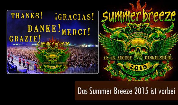 Das Summer Breeze 2015 ist vorbei