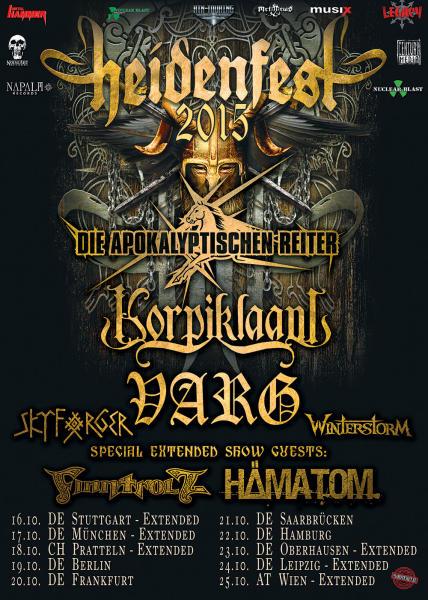 Heidenfest 2015 Flyer