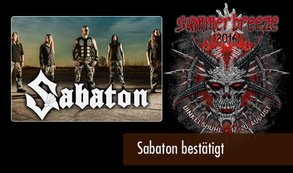Summer Breeze 2016 Sabaton
