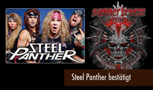 Summer Breeze 2016 Steel Panther