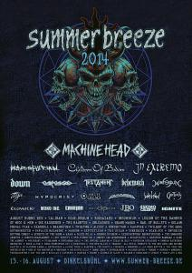 Summer Breeze 2014 Flyer