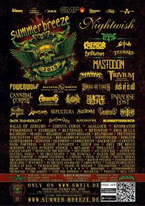 Summer Breeze 2015 Flyer