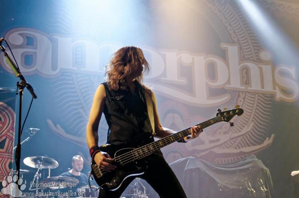 Amorphis Jahrhunderthalle Frankfurt - Niclas Etelävuori