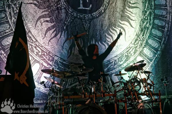 Arch Enemy Jahrhunderthalle Frankfurt - Daniel Erlandsson
