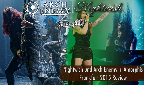 Artikelbild Nightwish und Arch Enemy Frankfurt 2015