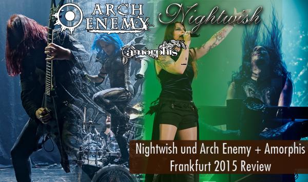 Artikelbild Nightwish und Arch Enemy Frankfurt 2015