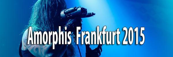 Fotos Amorphis Frankfurt 2015