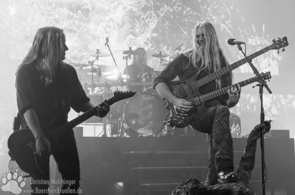Nightwish Jahrhunderthalle Frankfurt - Marco Hietala - Emppu Vuorinen