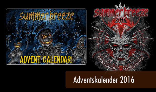 Summer Breeze 2016 - Adventskalender Artikelbild