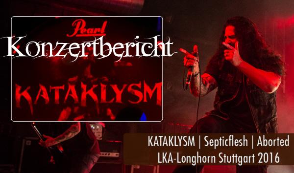 Artikelbild Konzertbericht Kataklysm LKA-Longhorn Stuttgart 2016