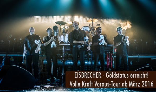 Eisbrecher Volle Kraft Voraus-Tour 2016