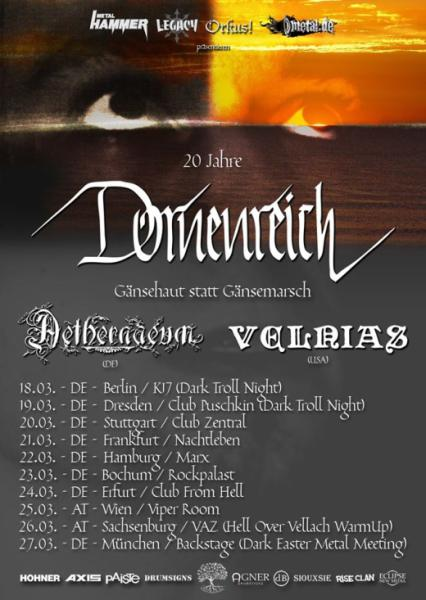 Flyer Dornenreich Tour 2016