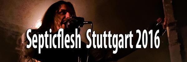 Fotos Septicflesh Stuttgart 2016