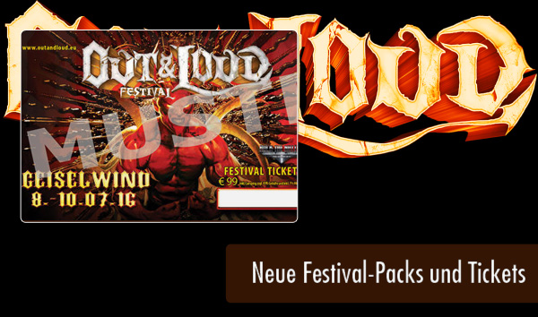 Out and Loud 2016 - Artikel - Neue Festival-Packs und Tickets