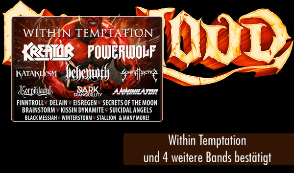 Out and Loud 2016 - Artikel - Within Temptation bestätigt