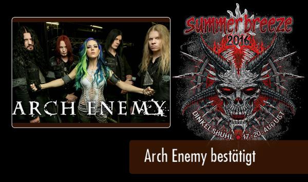 SB16 - Arch Enemy bestätigt