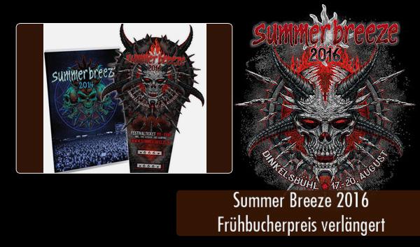 SB16 - Frühbucherpreis verlängert