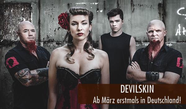 Devilskin Deutschlandtour März 2016