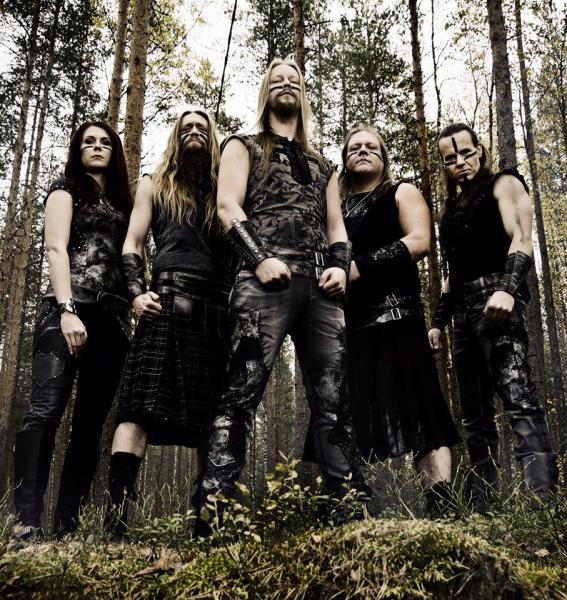Ensiferum Band Foto 2014