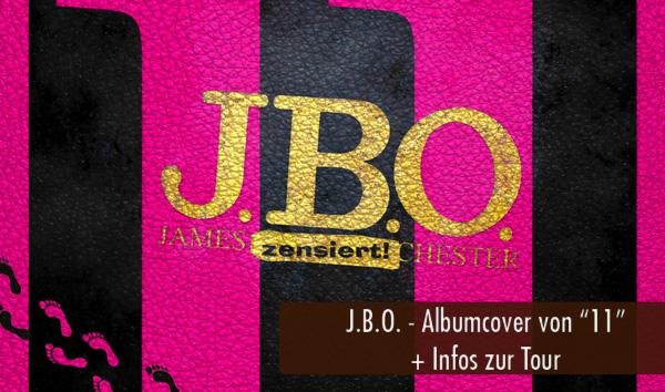 JBO Albumcover 11 und Tourdaten