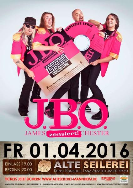 JBO Alte Seilerei Mannheim 2016