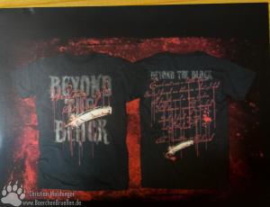 Beyond the Black Written in Blood T-Shirt