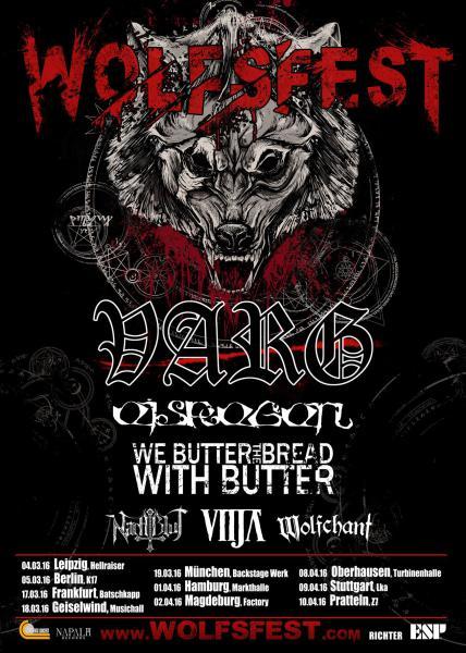 Wolfsfest 2016 Flyer