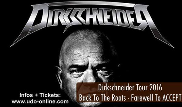 Dirkschneider Tour 2016 Artikelbild