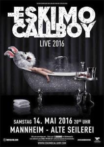 Eskimo Callboy Mannheim 2016 Flyer
