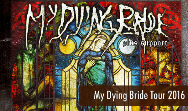 My Dying Bride Tour 2016 Artikelbild