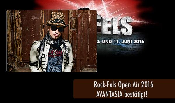 RockFels2016 - Avantasia Bestätigt