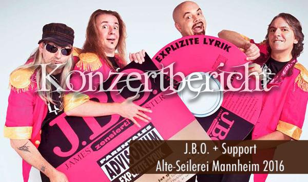 Artikelbild Konzertbericht JBO Alte-Seilerei Mannheim 2016