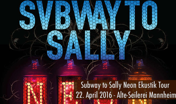 Artikelbild Subway to Sally Neon Ekustik Tour 2016
