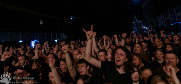 Ensiferum Batschkapp 2016 - Publikum