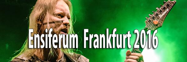 Ensiferum Frankfurt 2016 Fotos
