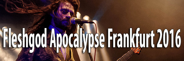 Fleshgod Apocalypse Frankfurt 2016 Fotos
