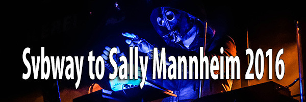 Subway to Sally Mannheim 2016 Fotos