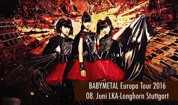 Artikelbild Babymetal Europa Tour 2016