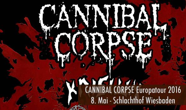 Artikelbild Cannibal Corpse Europatour 2016