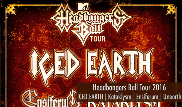 Headbangers Ball Tour 2016 Artikelbild