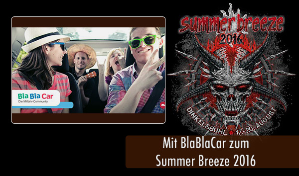 Summer Breeze 2016 BlaBlaCar Artikelbild