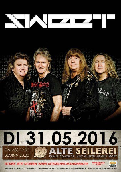 Sweet Alte Seilerei Mannheim 2016 Flyer