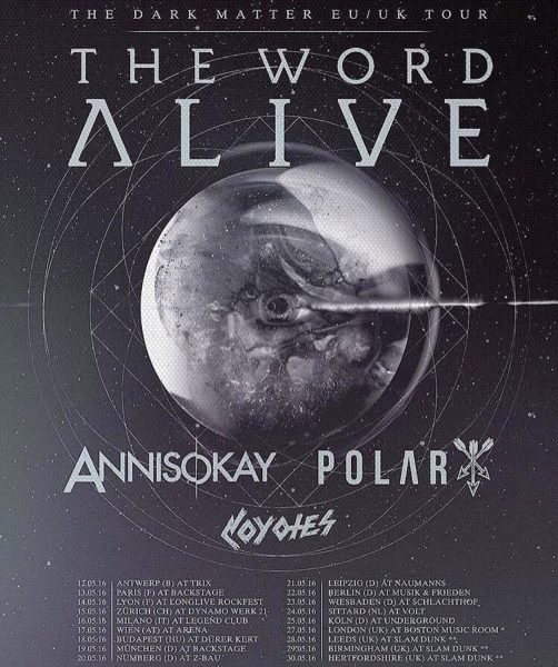 The Word Alive 2016 Flyer