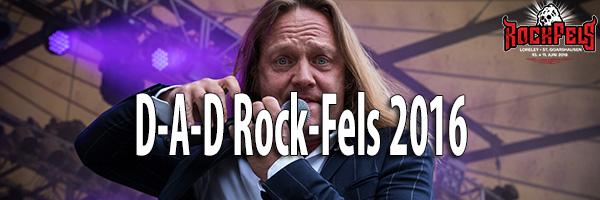 Fotos D-A-D RockFels 2016
