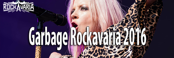 Fotos Garbage Rockavaria 2016