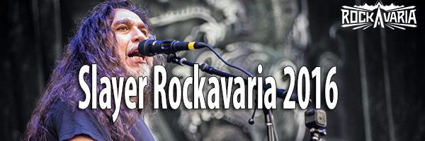 Fotos Slayer Rockavaria 2016