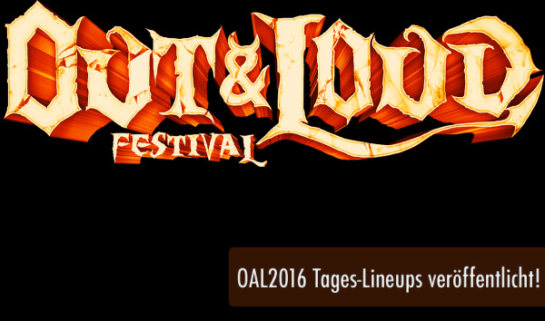 Out and Loud 2016 - Tages-Lineups stehen fest
